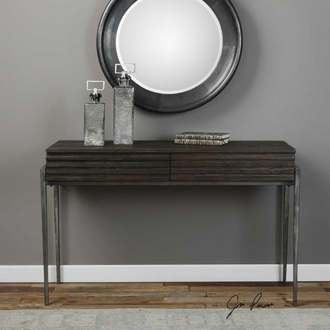 Uttermost Uttermost Morrigan Industrial Console Table