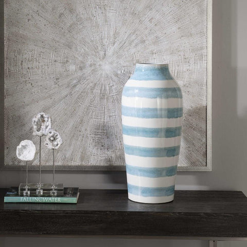Uttermost Uttermost Ortun Striped Vase