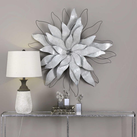 Uttermost Uttermost Picking Petals Galvanized Wall Art