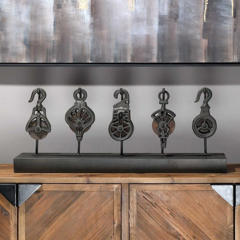 Uttermost Uttermost Pulley System Tabletop Statue