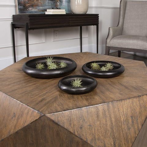 Uttermost Uttermost Roderick Round Trays Set of 3