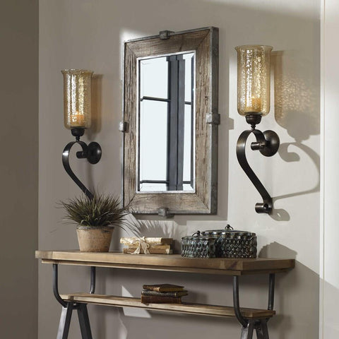 Uttermost Uttermost Siringo Weathered Wood Mirror