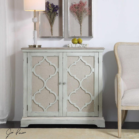 Uttermost Uttermost Sophie Sea Grey 2 Door Cabinet