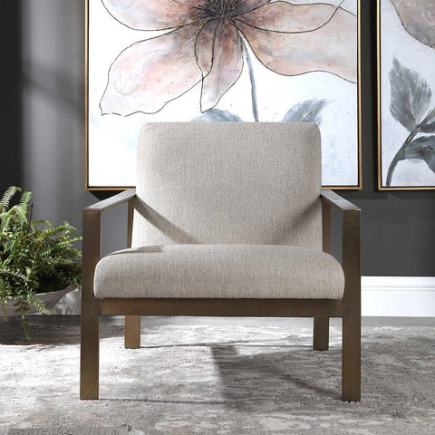 Uttermost Uttermost Wills Contemporary Accent Chair