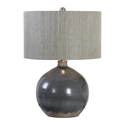 Uttermost Vardenis Gray Ceramic Lamp