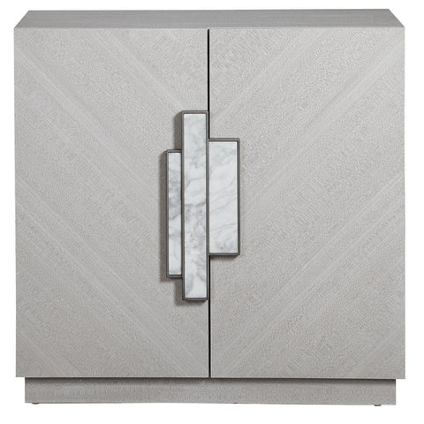Uttermost Viela Gray 2 Door Cabinet