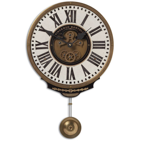 Uttermost Vincenxo Bartollini Cream Clock