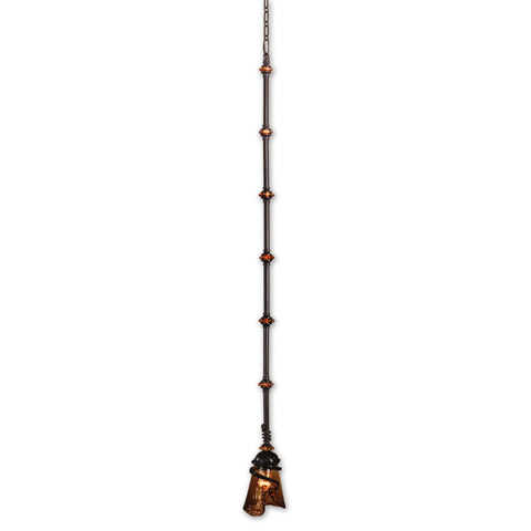 Uttermost Vitalia 1 Lt Mini Pendant in Oil Rubbed Bronze