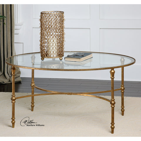 Uttermost Vitya Glass Coffee Table