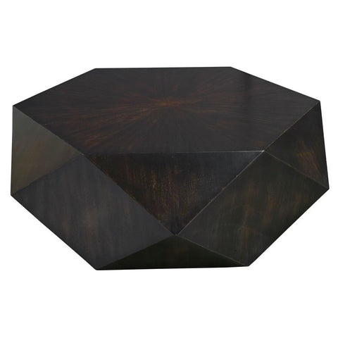 Uttermost Volker Small Black Coffee Table