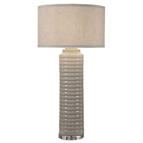Uttermost Yana Ribbed Cylinder Lamp