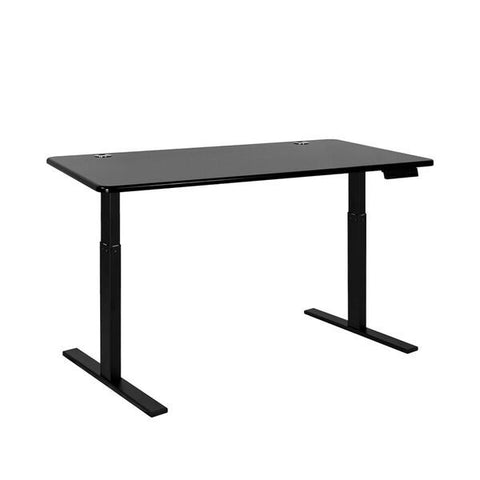 Vifah A55-A13 Autonomous SmartDesk - Height-Adjustable Standing Desk - Single Motor - Black Frame - Black Classic Top