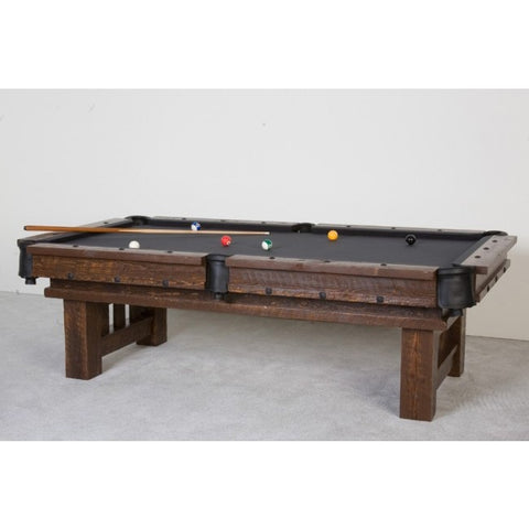 Viking Barnwood Billiard Table