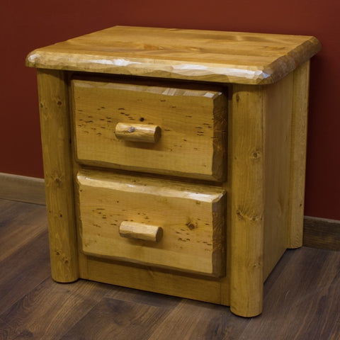 Viking Northwoods 2 Drawer Nightstand