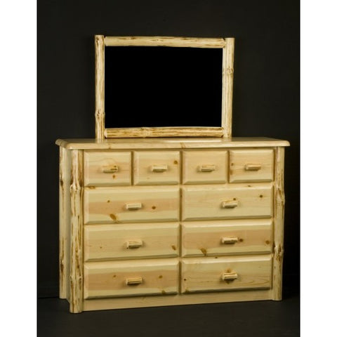 Viking Wilderness 10 Drawer Chesser in Clear Finish