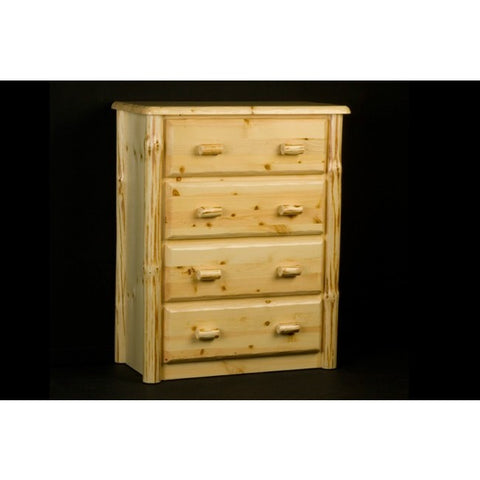 Viking Wilderness 4 Drawer Chest in Clear Finish