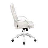 Zuo Director Comfort Office Chair in White