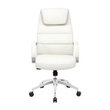 Zuo Lider Comfort Office Chair in White