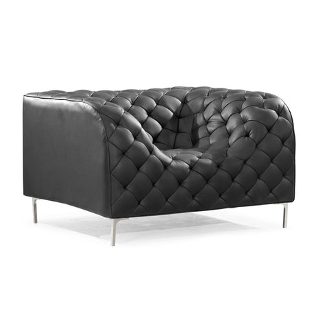 Zuo Providence Armchair in Black
