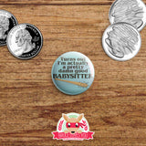 Stranger Things inspired buttons - pinback or magnets