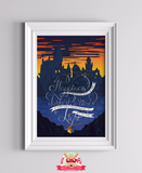 Happiness - Harry Potter Inspired Print