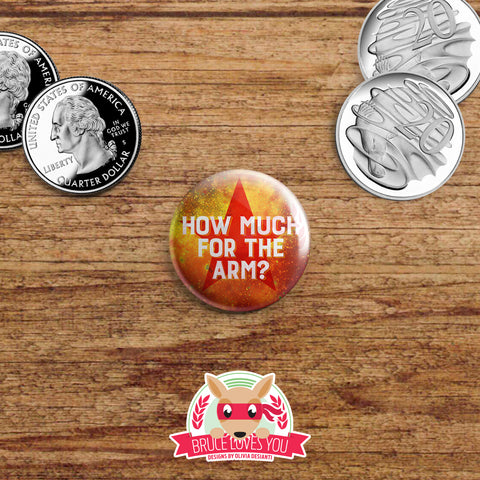 Avengers Infinity War inspired buttons - pinback or magnets
