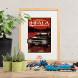 Now Boarding: IMPALA - Supernatural inspired Print