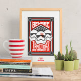 Beware TRAITORS are amongst us - Star Wars inspired Print