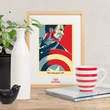 The First Avenger - Captain America inspired print