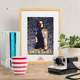 Longing. Rusted. Seventeen. Daybreak. - Winter Soldier inspired Print