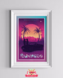 San Junipero - Black Mirror inspired print