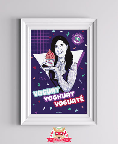 Yoghurt - The Good Place inspired Print