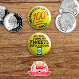 Brooklyn Nine Nine inspired buttons - pinback or magnets