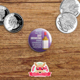 Jessica Jones inspired buttons - pinback or magnets