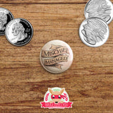 Harry Potter inspired buttons - pinback or magnets