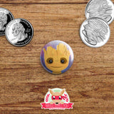 Guardians of the Galaxy buttons - pinback or magnets