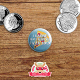 Supernatural inspired buttons - pinback or magnets
