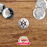 Supernatural inspired Button Pack