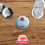 Doctor Who inspired buttons - pinback or magnets