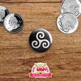 Teen Wolf inspired buttons - pinback or magnets