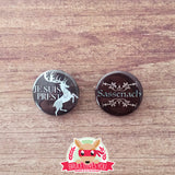 Outlander inspired buttons - pinback or magnets