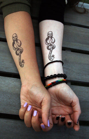 Dark Mark Temporary Tattoos