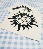 Anti-Possession Temporary Tattoos
