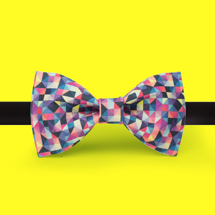 Bright reflection bow tie