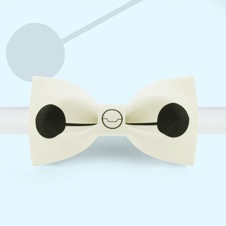 Baymax printed butterfly bow tie