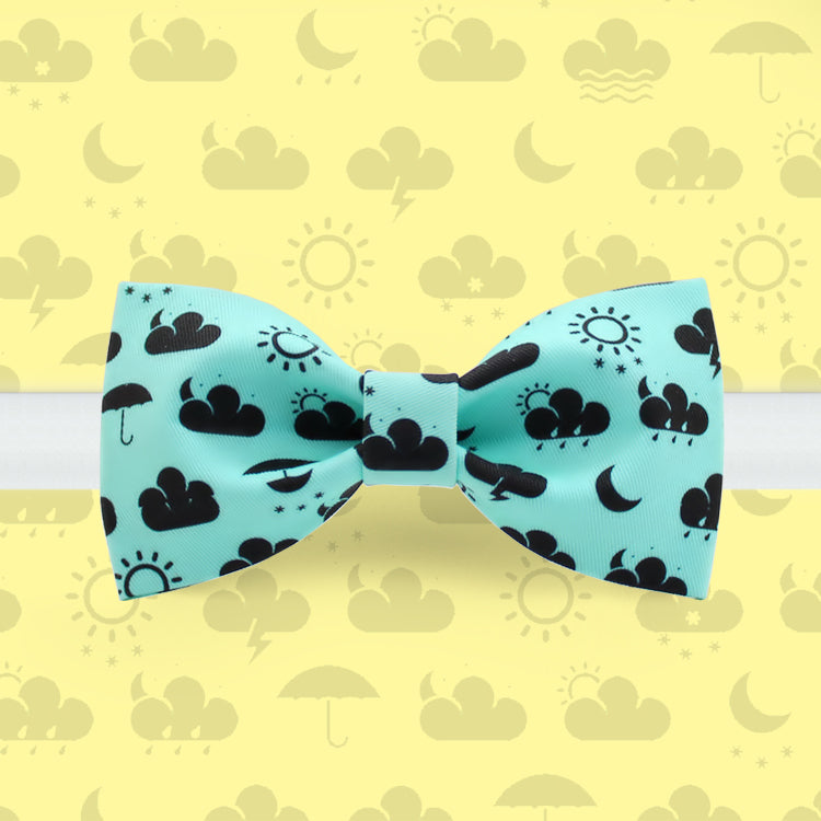 Weather forecast bow tie