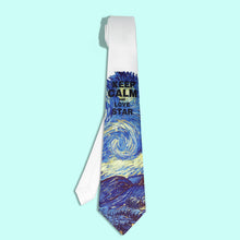 Starry Night of Van Gogh necktie