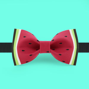 Red watermelon bow tie