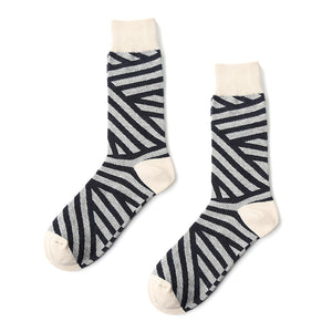 white and gray men crew socks