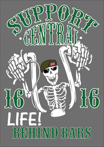 Central Life behind Bars Support 16 Hoodie